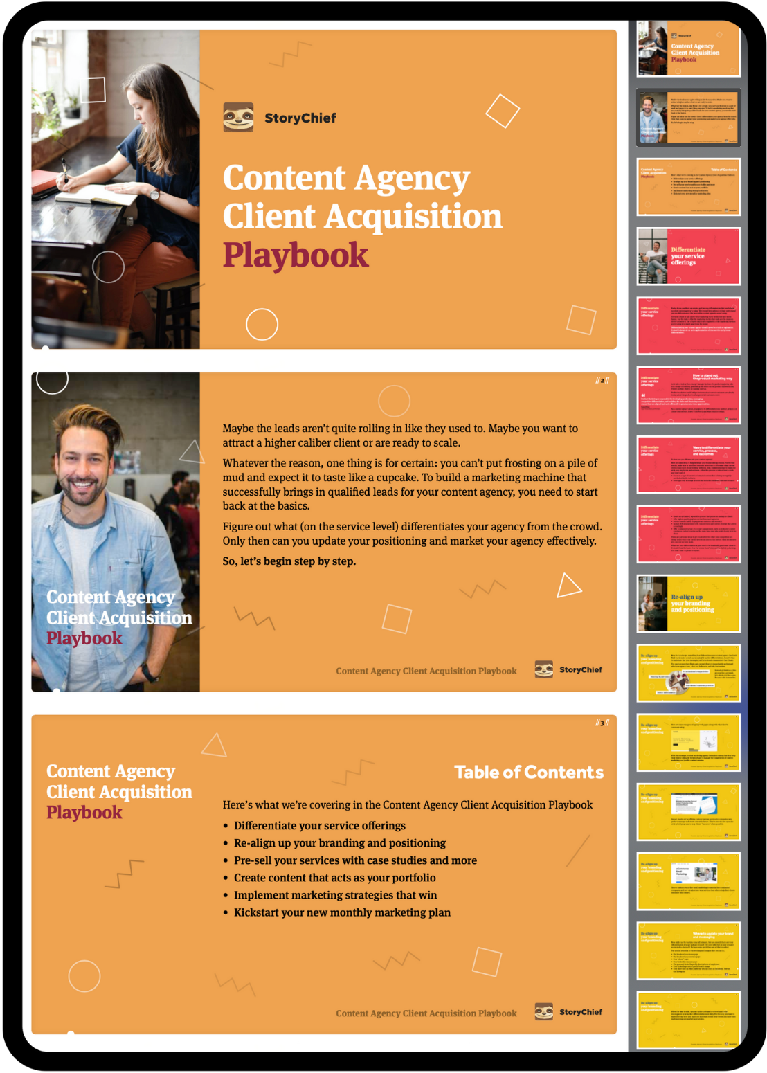 Content Agency Client Acquisition Playbook